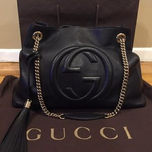 Gucci Soho Disco Chain Shoulder Chain Bag